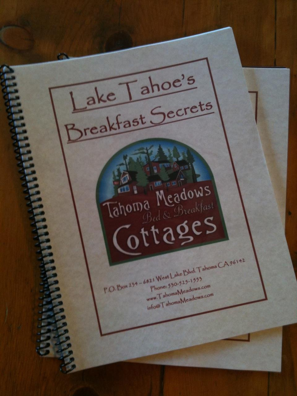 recipes booklet